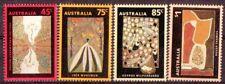 AUSTRALIEN 1993 ABORIGINES KUNST SG.1388-1391 NICHT GEFAßT UNGEBRAUCHT