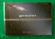 2007 07 Kia Rondo Owners Manual  Near New  R49A