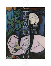 """PICASSO PABLO - NUDE, GREEN LEAVES AND BUST, 1932 - Artwork Rep 14"""" x 11"""" (4173)"""