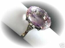 AMETHYST 15,0ct/ DIAMANTEN 0,10ct  RING 750 WEISSGOLD Wert EUR 1150,-