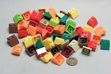 Lego Parts Lot of 55 Slope Roof 3039 45 2x2 Legos Mixed Colors Item #134
