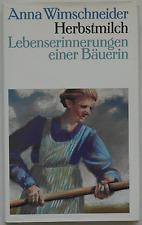 Anna Wimschneider – Herbstmilch (gebunden)
