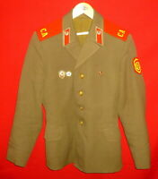 Russian Soviet Army Infantry Soldier Parade Uniform Jacket Sz 46 XS USSR 3 Pins