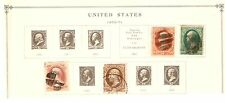 1870/1871 + 1873 TOTAL OF 4 US STAMPS 146/147/148/150    CATV $ 80