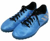 Adidas Traxion Youth Boys Blue Indoor Soccer Futbol Football Cleats Shoes Size 2
