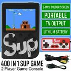 SUP Retro Mini Handheld Video Game Console Gameboy Built-in 400 Classic Games UK