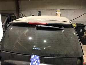 SMART CAR FORTWO FOR TWO 451 REAR TAILGATE SCREEN WINDOW GLASS COMPLETE