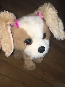 !FurReal Friends Bouncy My Happy To See Me Pup Interactive Stuffed Dog Pet A0514