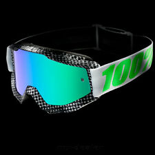 100% ACCURI ESPEJO Motocross MX Cruz Gafas Newsworthy BMX DH