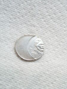 20 CENT ERROR COIN   1981 FROM MEXICO.
