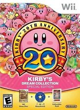 Kirby's Dream Collection: Special Edition [Nintendo Wii, Soundtrack & Book] NEW