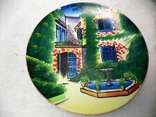 Courtyard Little Theater New Orleans Colorful Collectable Decorative Plate 8""