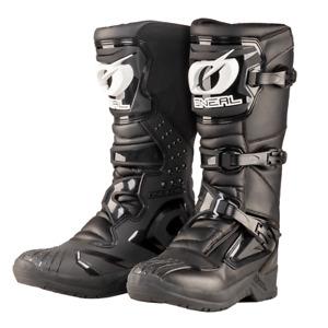 New UK 11 Euro 46 Oneal RSX Black Motocross Enduro Boots O`Neal