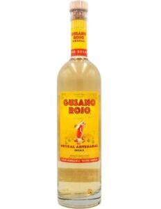 Mezcal Gusano Rojo mit Wurm 0,7l - Mezcal aus Mexiko