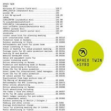 Aphex Twin - Syro (NEW CD DIGIPACK)