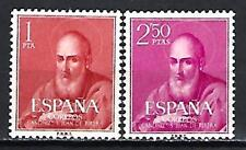 Espagne 1960 Yvert n° 973 et 974 Saint Juan de Ribera neuf ** 1er choix
