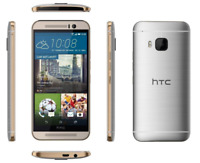 """Débloqué Téléphone 5"""" HTC One M9 4G LTE 32GB 20.0MP Android NFC GPS - Argenté"""