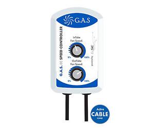 GAS EC Speed Controller Speed Intake Outtake Fan Grow Room Hydro