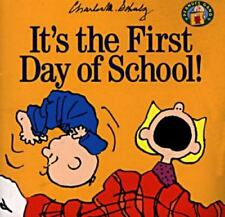 It's the First Day of School! (Peanuts Gang) Schulz, Charles M. Paperback