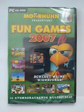 Moorhuhn 2 Fun Games 2007 rondomedia Game PC Zustand NEU OVP MH2 läuft mit WIN10