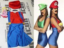 Nikki The Bella Twins 3x Signed WWE Ring Worn Used Mario Bros Gear PSA/DNA Diva