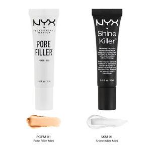 """2 NYX Pore Filler Mini & Shine Killer Mini Set """"POFM01 + SKM01""""*Joy's cosmetics*"""