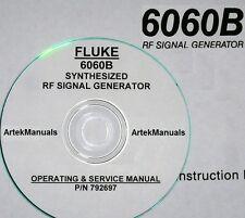 FLUKE 6060B Synthesized Signal Generator Instruction(Operating & Service) Manual