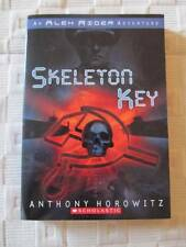 SKELETON KEY* ALEX RIDER BOOK* 2002 SCHOLASTIC BOOK * PAPERBACK HOROWITZ