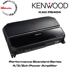 KENWOOD kac-ps404 - NUOVA 4 / 1 / 2 canali Power amplificatore 550w bridgable Amp Altoparlante