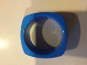 Blue Square sensory cheW bracelet, chewable, BPA free