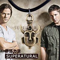 For Supernatural Inspired Dean's Amulet Dean Winchester Pendant Cool Necklace