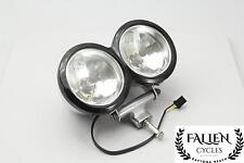 14 Harley Dyna Fat Bob FXDF Headlight Light Bucket Housing Trim Ring *DENT