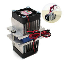 New DIY kits Thermoelectric Peltier Cooler Refrigeration Cooling System + fan