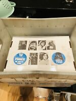 1977 Star Wars Vending Stickers Set -May The Force Be With You-Darth Vadar Lives
