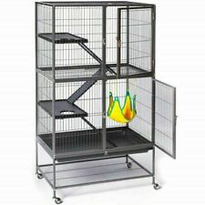 Ferret Cage House Habitat Kitty Iguana Home Reptile Animal Rat Enclosure Stand