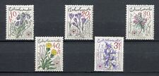 33298) CZECHOSLOVAKIA 1979 MNH** Mountain Flowers 5v