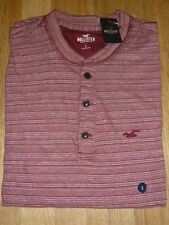 Hollister Henley Regular Fit Casual Shirts & Tops for Men