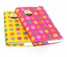 2018 A6 Day to Page Leather Organiser Appointment Office Desk Diary Dot