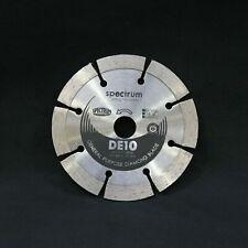 Spectrum DE10 105mm x 16mm Diamond Disc Blade. General Purpose, Concrete, Brick