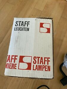 NOS! Orig. STAFF Lampe  MIDCENTURY BAUHAUS VINATAGE ORIGINAL NEW!
