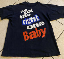 Vintage 90's Diet Pepsi T Shirt You Got The Right One Baby Uh Huh Size Medium