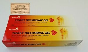 2 X ANTI-INFLAMMATORY GEL 100G (ALTERNATIVE TO DIFFLAM GEL)