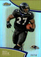 2011 Finest Gold Refractors #14 Ray Rice /50 - NM-MT