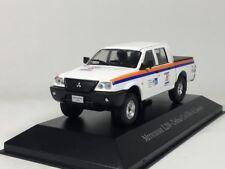 ixo 1:43 Mitsubishi L200 Defesa Civil Rio de Janeiro Diecast car model