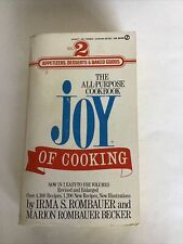 Joy of Cooking Vol 2 1974 The All-Purpose Cookbook Rombauer Becker