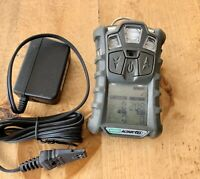 MSA Altair 4X multigas Monitor detector O2,H2S,CO,LEL calibrated, W/ Charger #4