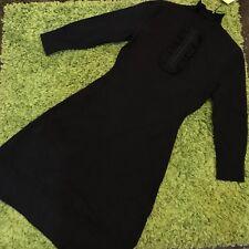 NWT $235 Karen Millen High Neck Knit Dress Size XS