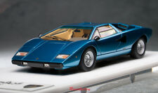 1/43 Model Make Up Lamborghini Countach LP400 1974 Metallic Blue EM387D