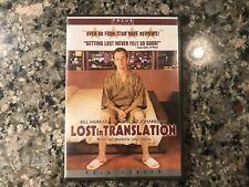 Lost In Translation Dvd. 2003 Comedy. Bill! 🤚
