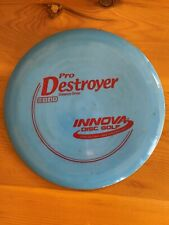Innova Disc Golf Pro Destroyer Distance Driver 172g Blue with Red print used